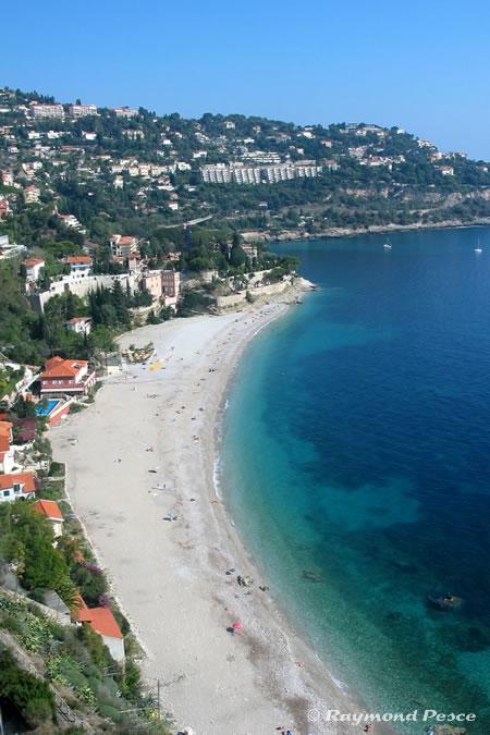 Photos des superbes plages aux eaux turquoises de - Roquebrune cap martin office du tourisme ...